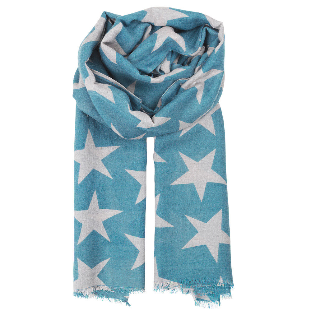 Supersize Nova Scarf - Dusky Blue
