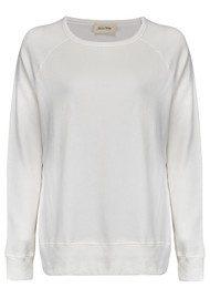 American Vintage Jaguar Sweater - Blanc