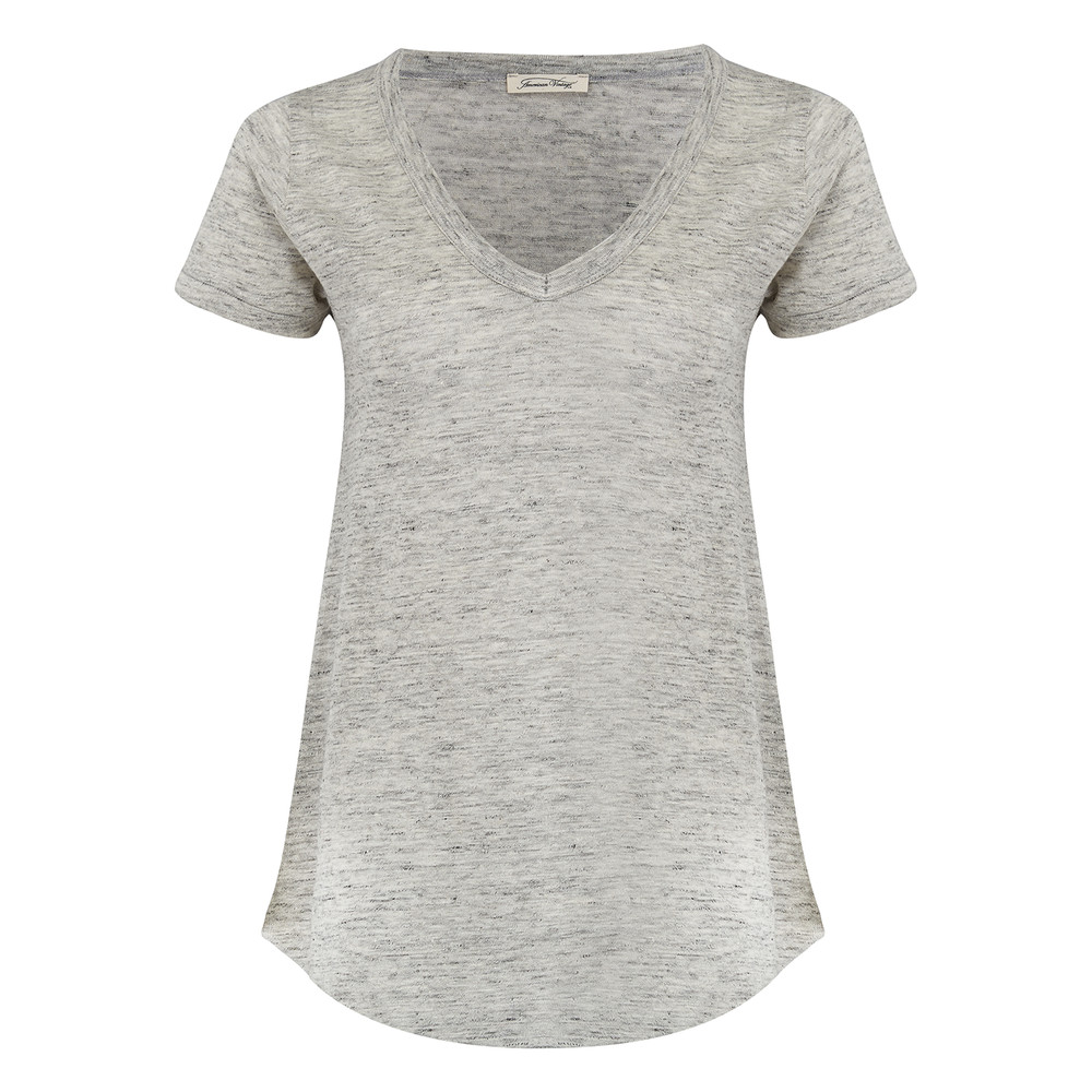 Quincy Short Sleeve Tee - Gris Chine