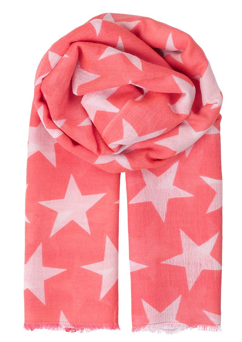 Becksondergaard Supersize Nova Scarf - Vibrant Pink main image