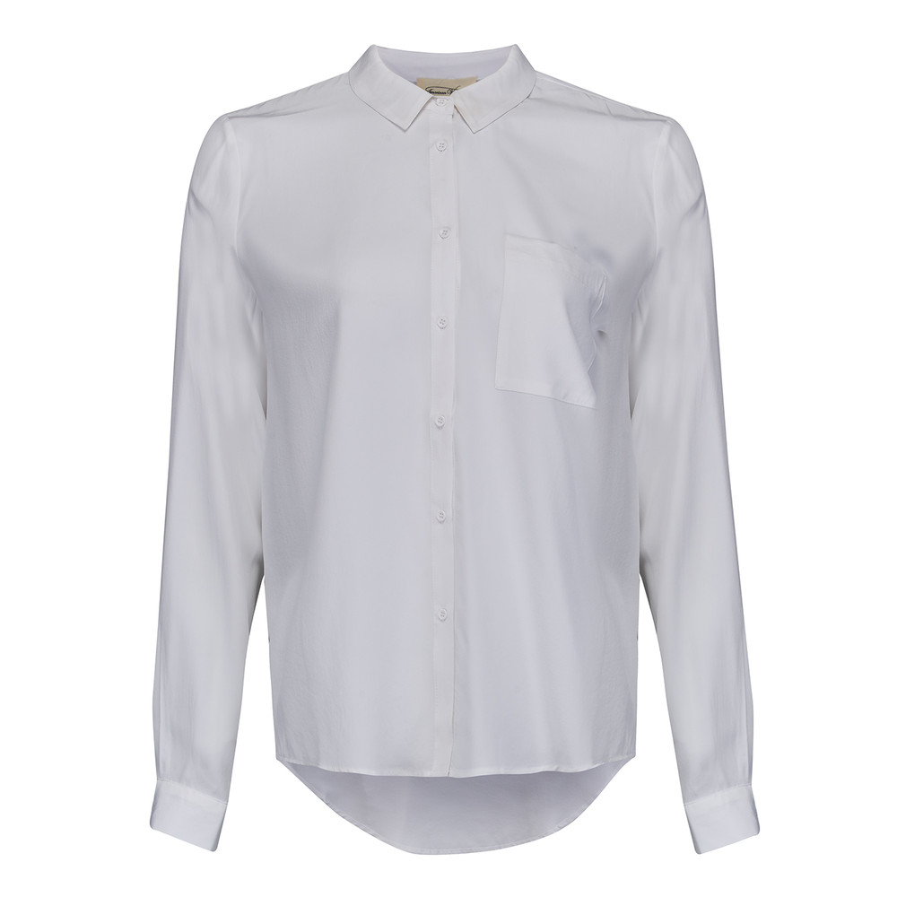 Riswell Silk Shirt - Blanc