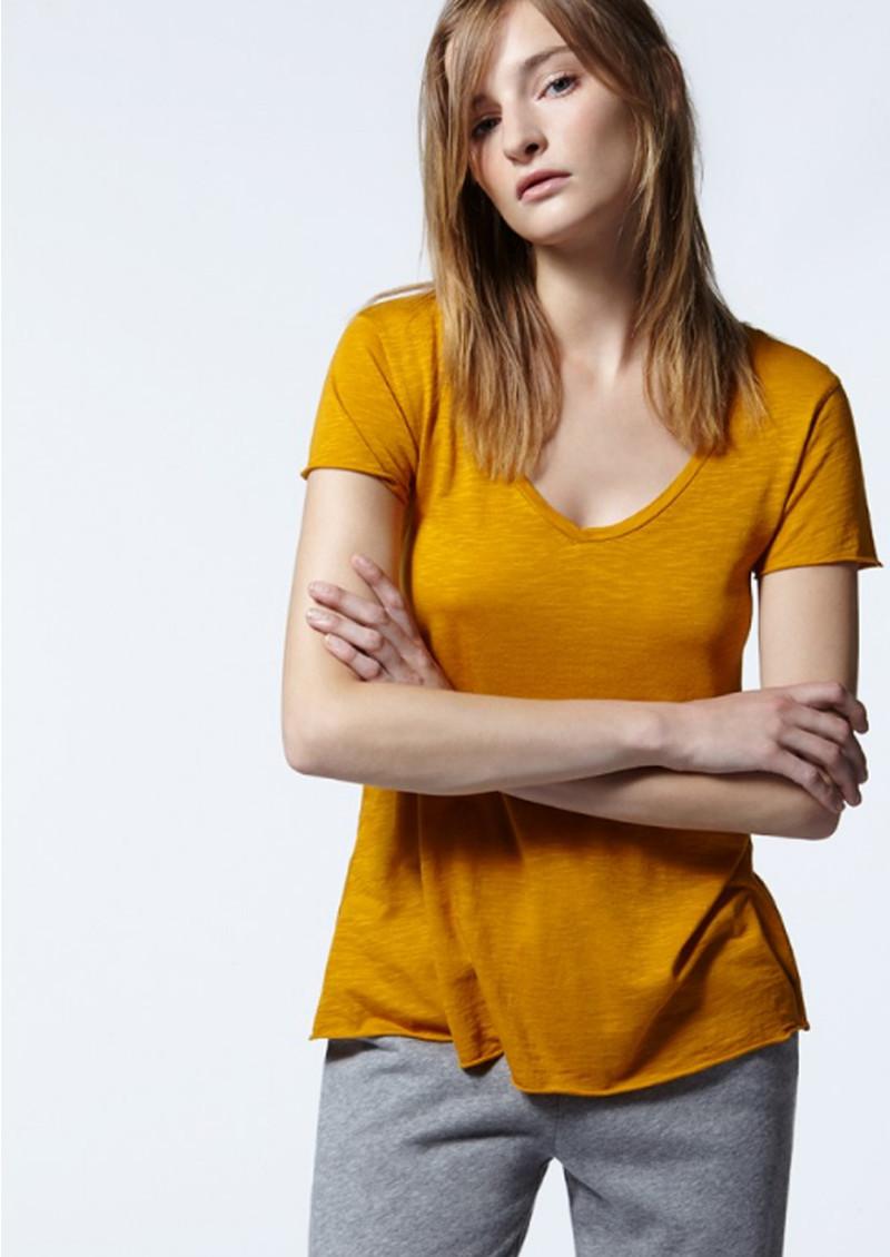 American Vintage Jacksonville Short Sleeve T-Shirt - Solar main image