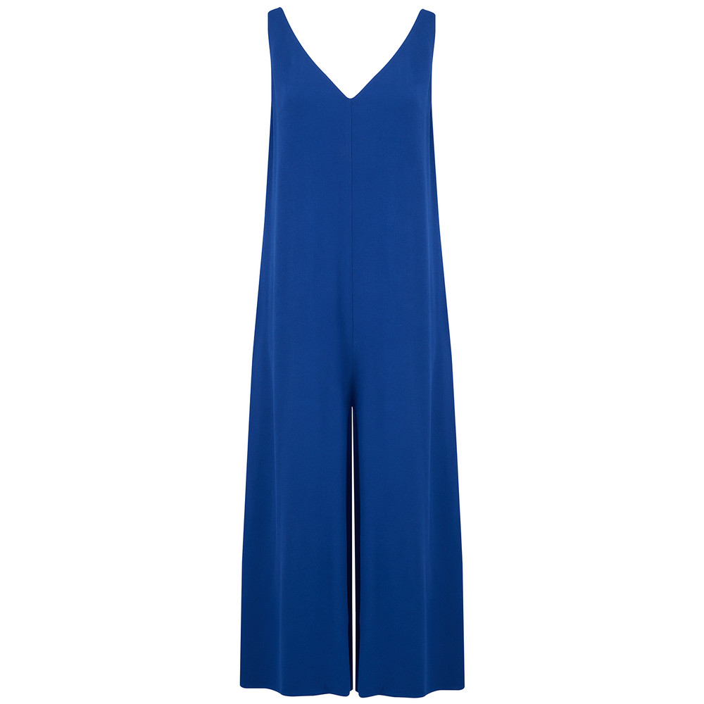 Holiester Jumpsuit - Cobalt Blue