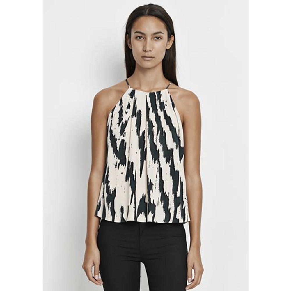 Willow AOP Lace Top - Edge