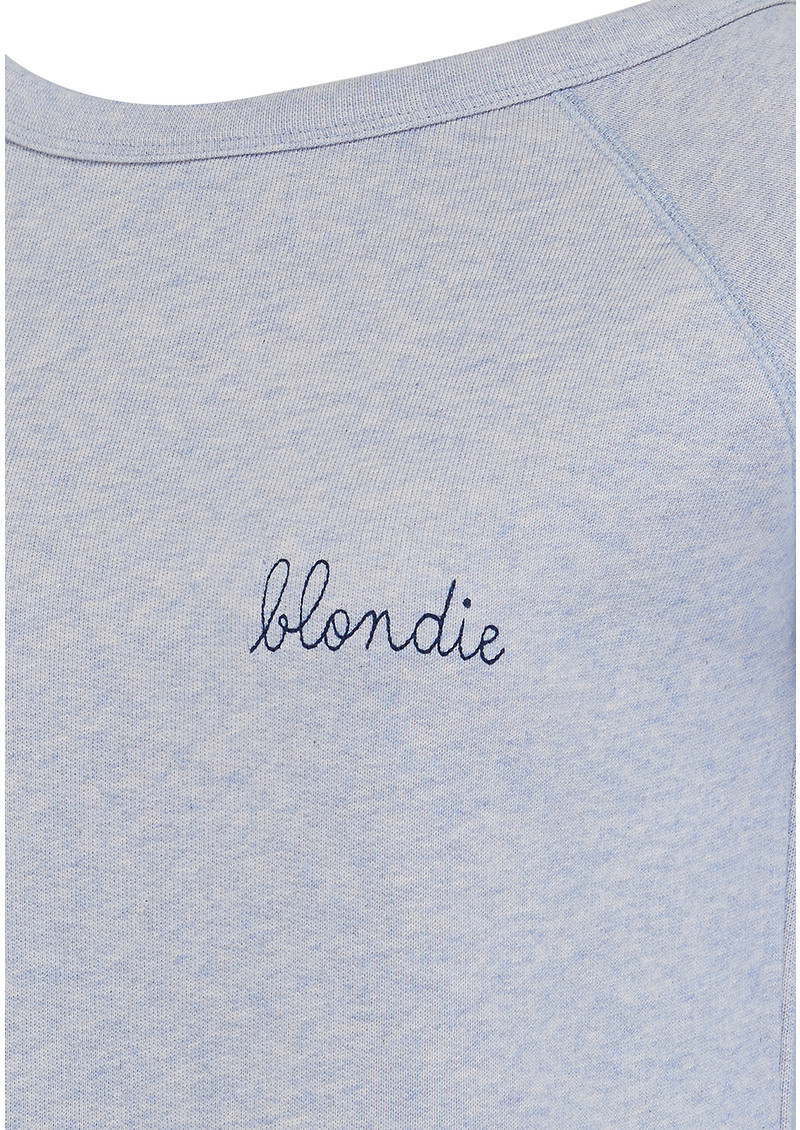 Blondie Sweater - Sky Rose main image