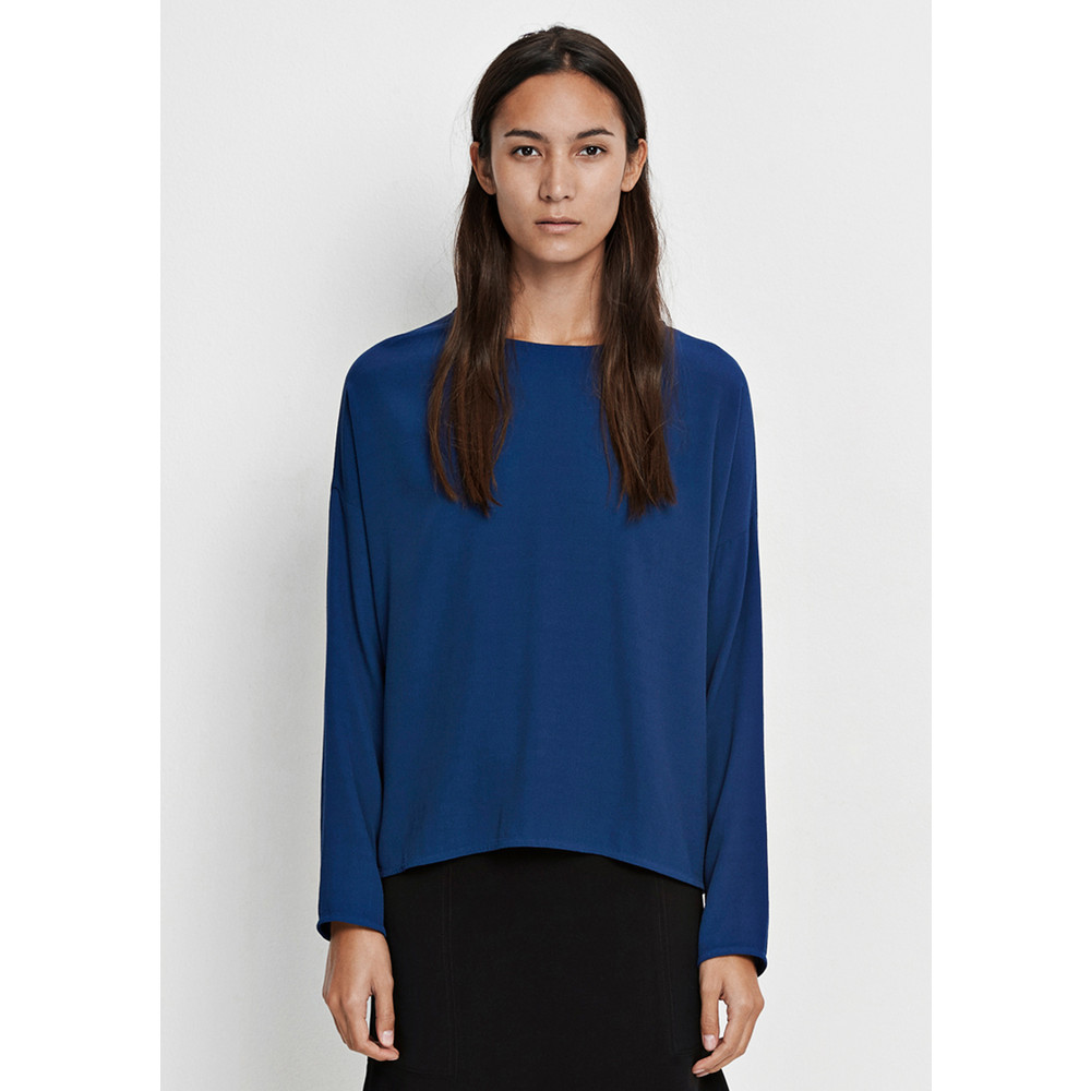 Mains Long Sleeve Top - Estate Blue