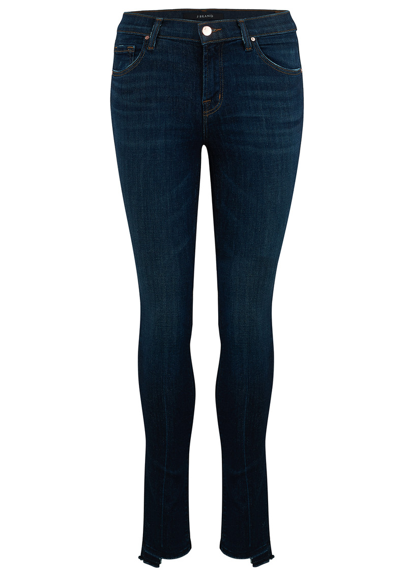 J Brand 811 Mid Rise Stepped Hem Jean - Disguise main image