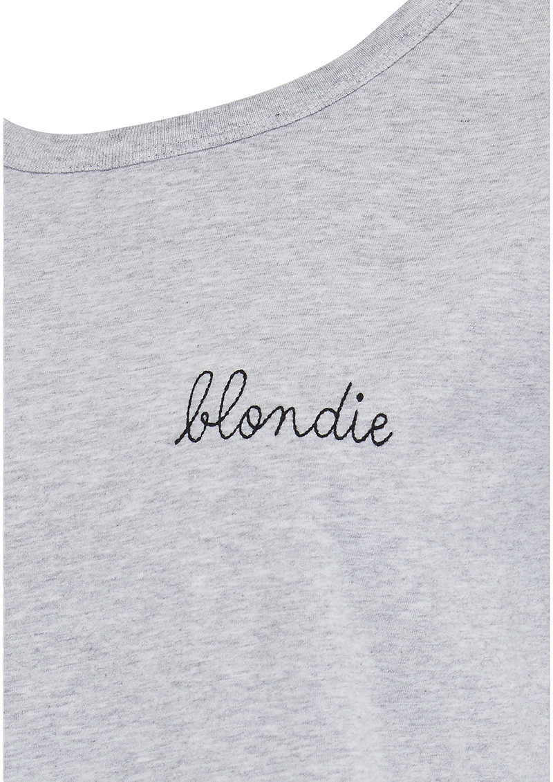 Blondie Tee - Grey main image