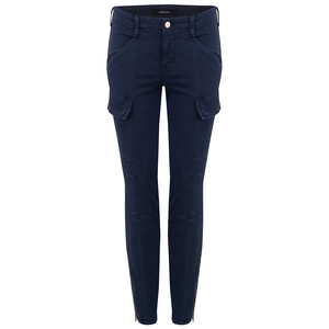 Houlihan Cargo Jeans - Distressed Black Iris