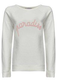 MAISON LABICHE Paradise Embellished Sweater - Snow