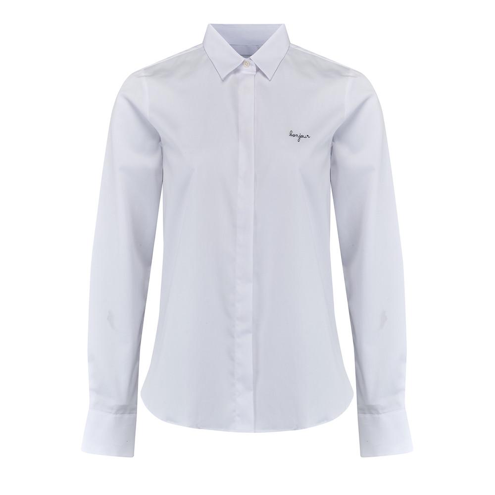 Bonjour Cotton Shirt - White