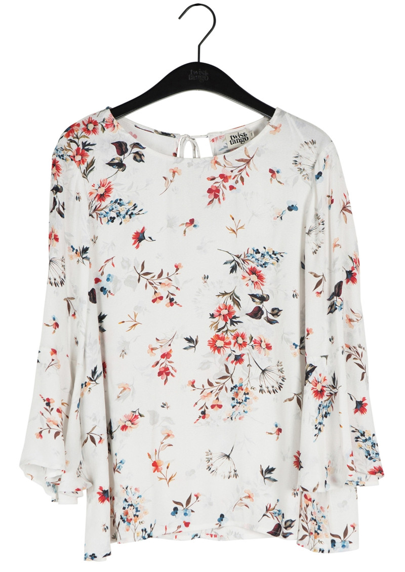 Twist and Tango Laura Blouse - Big Floral Print main image