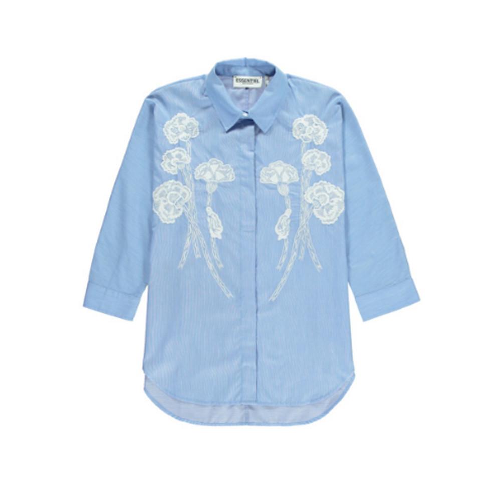 Nuances2 Embroidered Shirt - Florida Keys