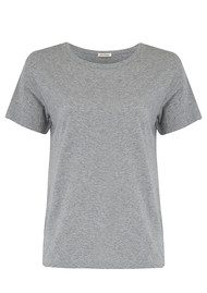 American Vintage Sand Sky Short Sleeve Tee - Heather Grey