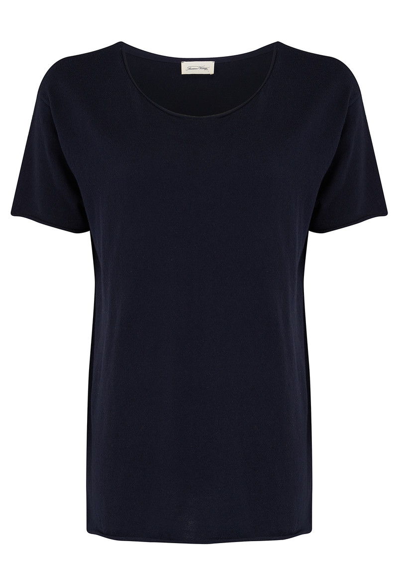 Marcel Boat Neck Jumper - Navy main image