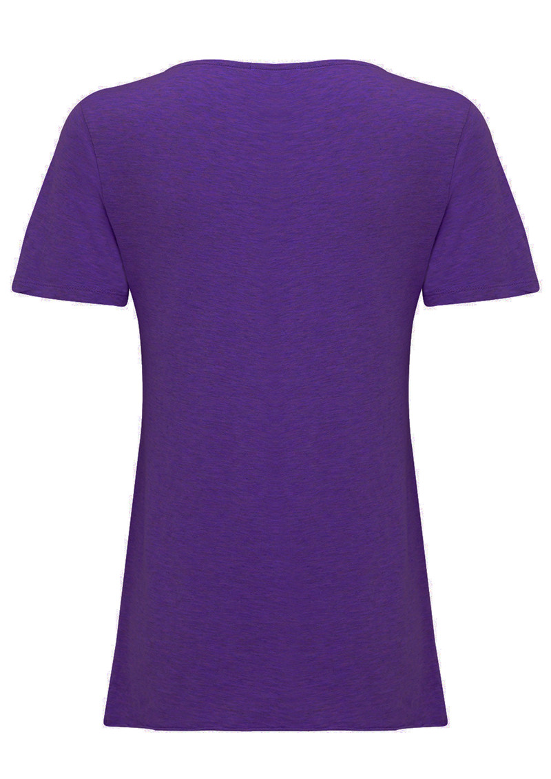 Jacksonville Round Neck T-shirt - Dark Purple main image