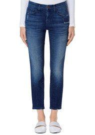 J Brand Sadey Mid Rise Slim Straight Jeans - Gone