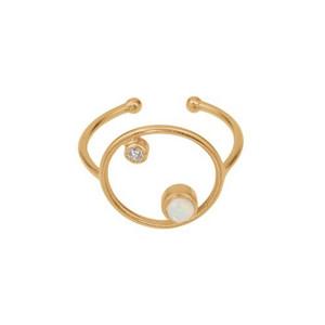 Ocean Adjustable Ring - Gold