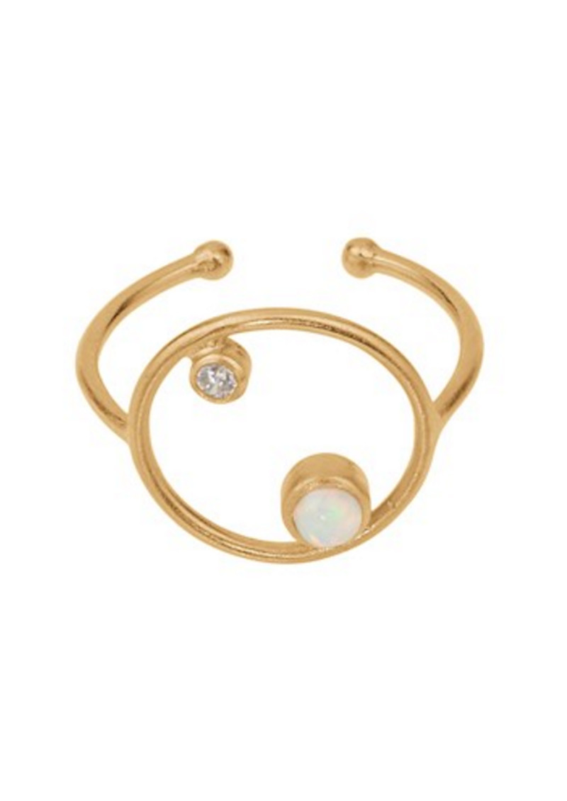 PERNILLE CORYDON Ocean Adjustable Ring - Gold main image