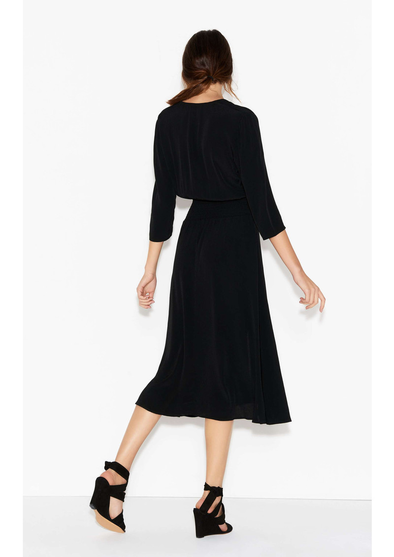 BA&SH Lucia Dress - Black main image