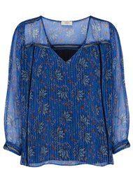 Ba&sh Odelle Blouse - Blue