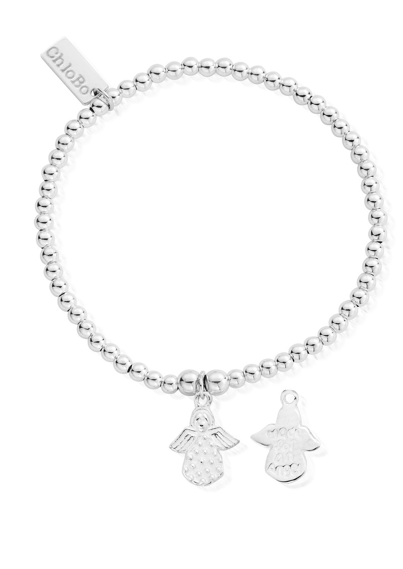 ChloBo Cute Charm Made For An Angel Bracelet - Silver main image