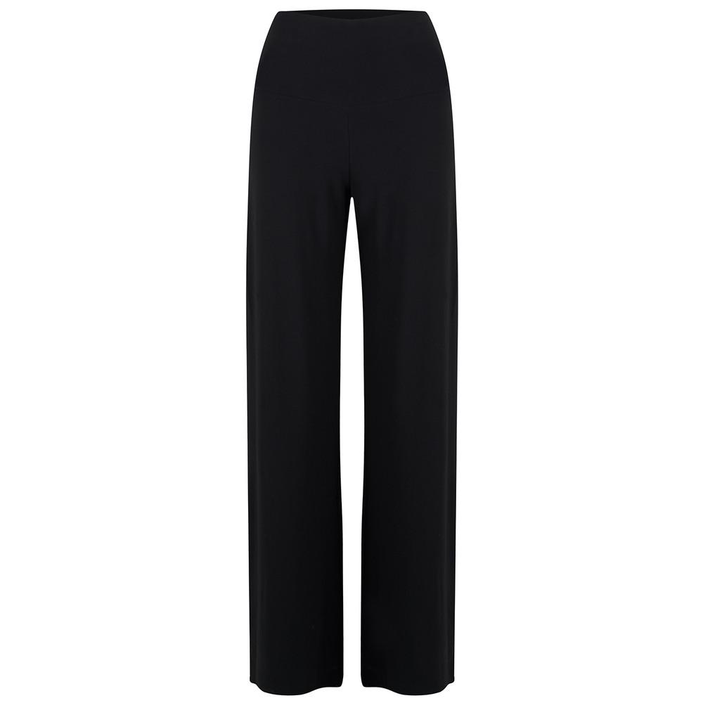 Straight Leg Pant - Black
