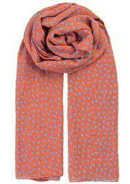 Becksondergaard Fine Summer Star Scarf - Russet Orange