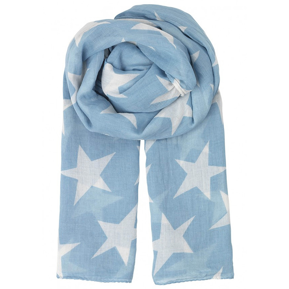 Fine Twilight Scarf - Dusk Blue