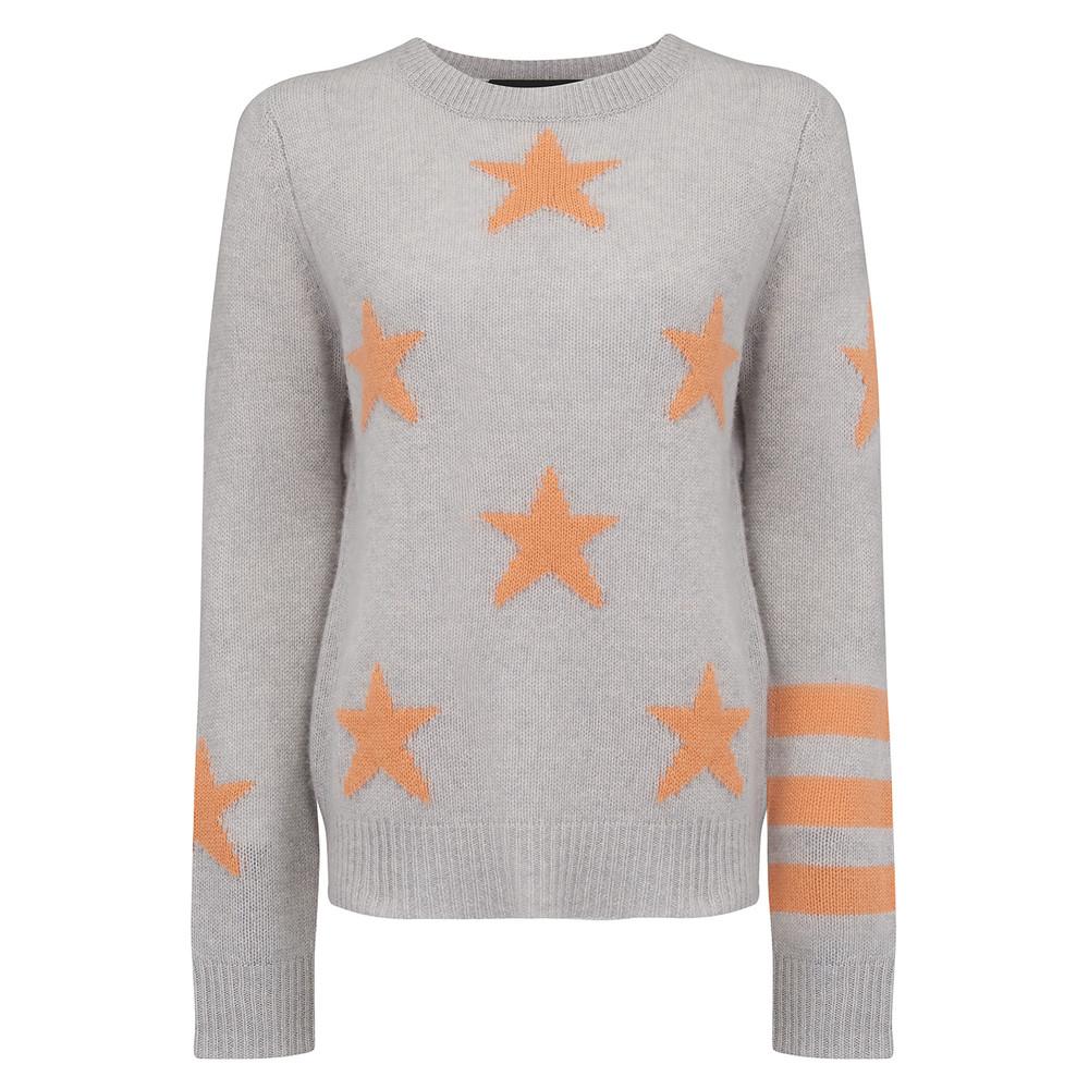 Embrey Sweater - Shitake & Tangelo