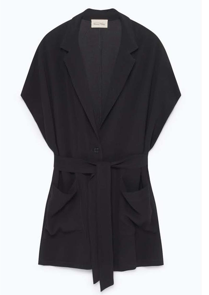 American Vintage Holiester Sleeveless Blazer - Black main image