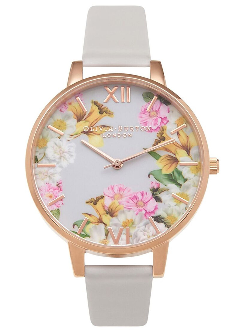 Olivia Burton Flower Show Floral Watch - Blush & Rose Gold main image