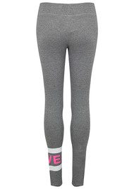 SUNDRY Love Stripe Yoga Pant - Heather Grey