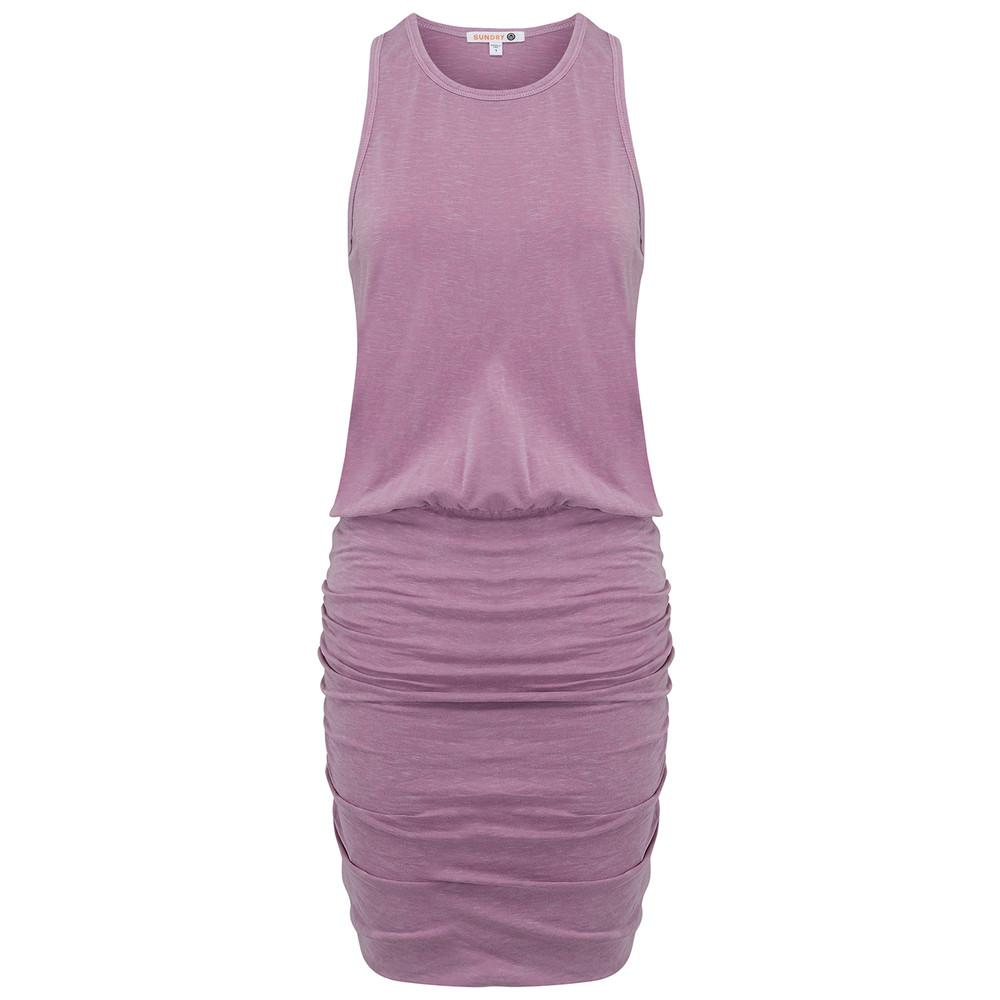 Sleeveless Dress - Pigment Plum