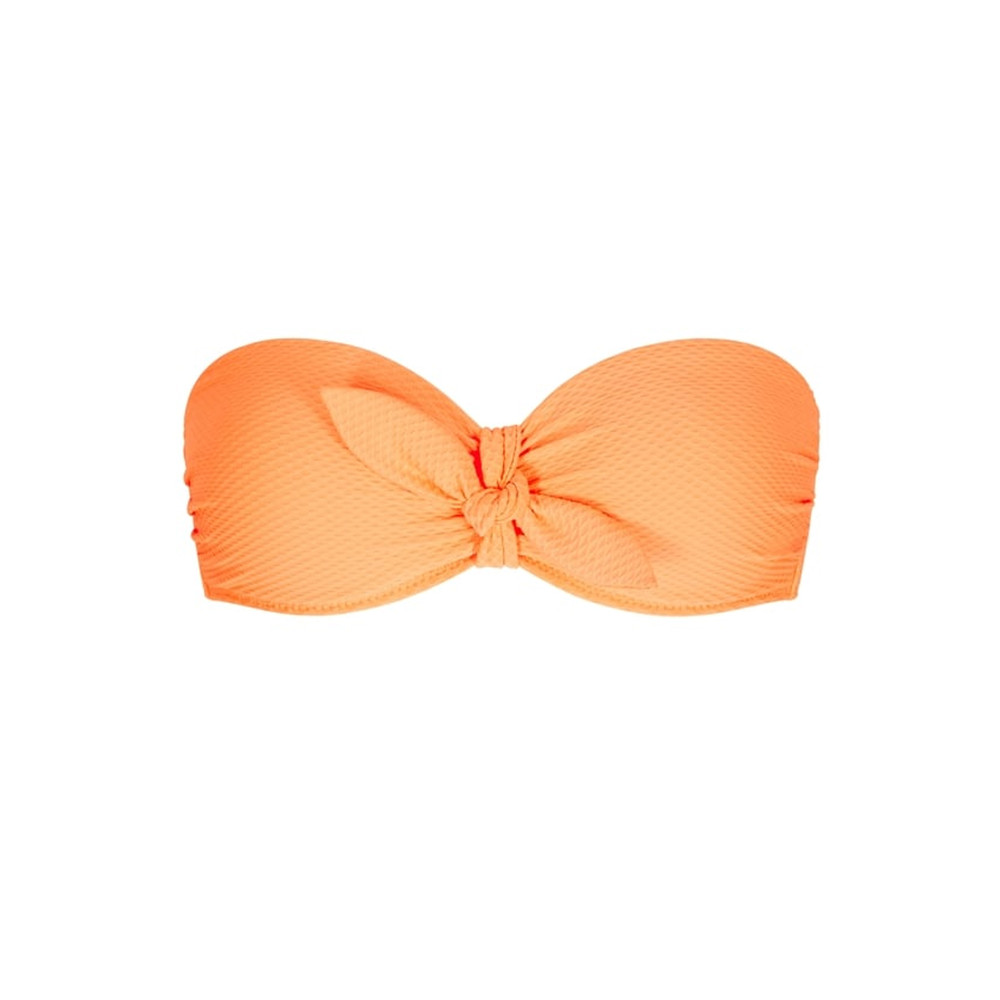 Folly Island Balcony Bikini Top - Orange