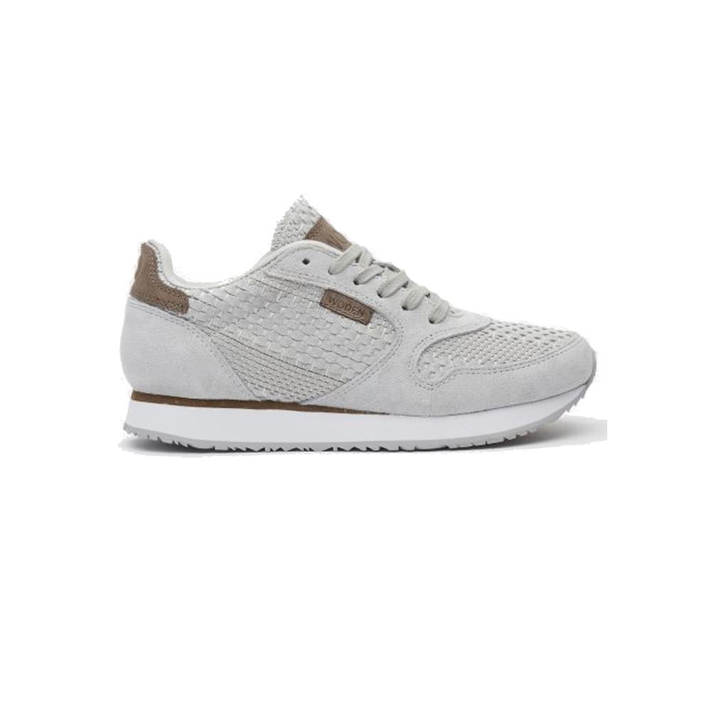 Ydun Croc Trainers - Light Grey