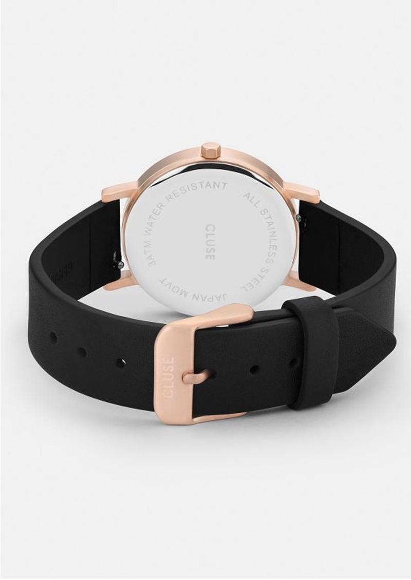 CLUSE La Roche Petite Rose Gold Watch - Black & Black main image