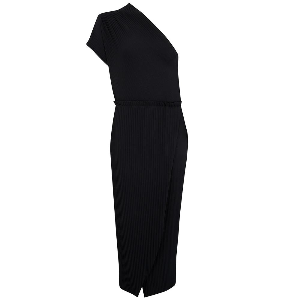 Onyx Split Dress - Black