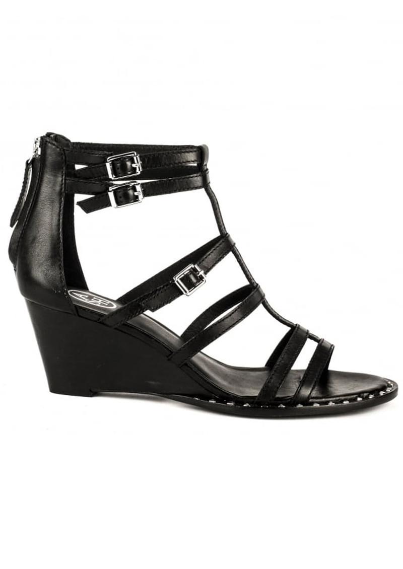 Ash Nuba Bis Wedge Sandals - Black main image