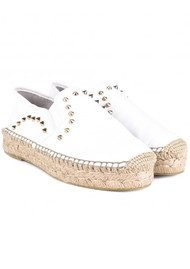 Ash Xiao Leather Espadrilles - White