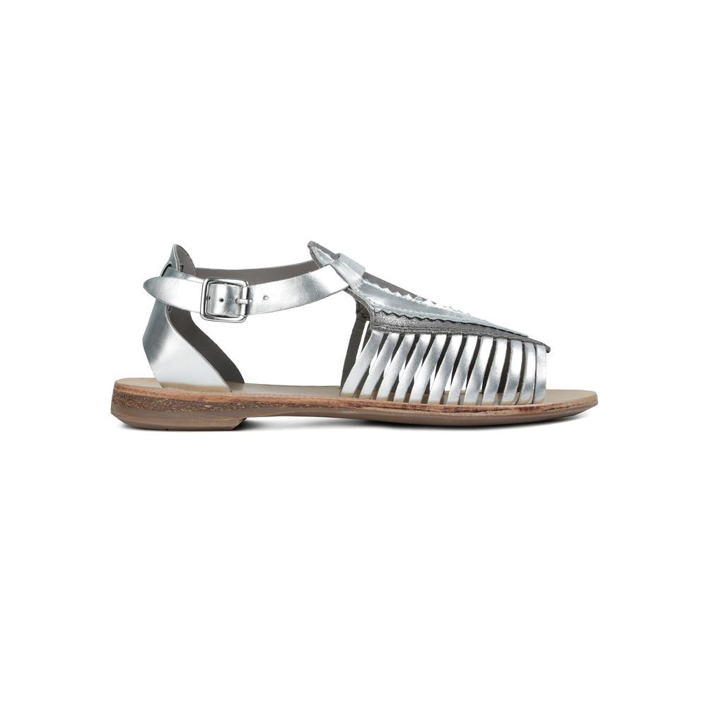 Pansy Sandal - Silver