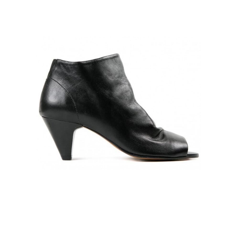 Goa Leather Boot - Black