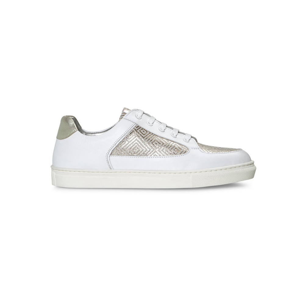 Coney Low Top Trainers - Labyrinth