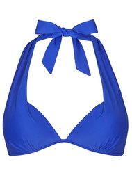 HEIDI KLEIN Lisbon Push Up Bikini Top - Royal Blue