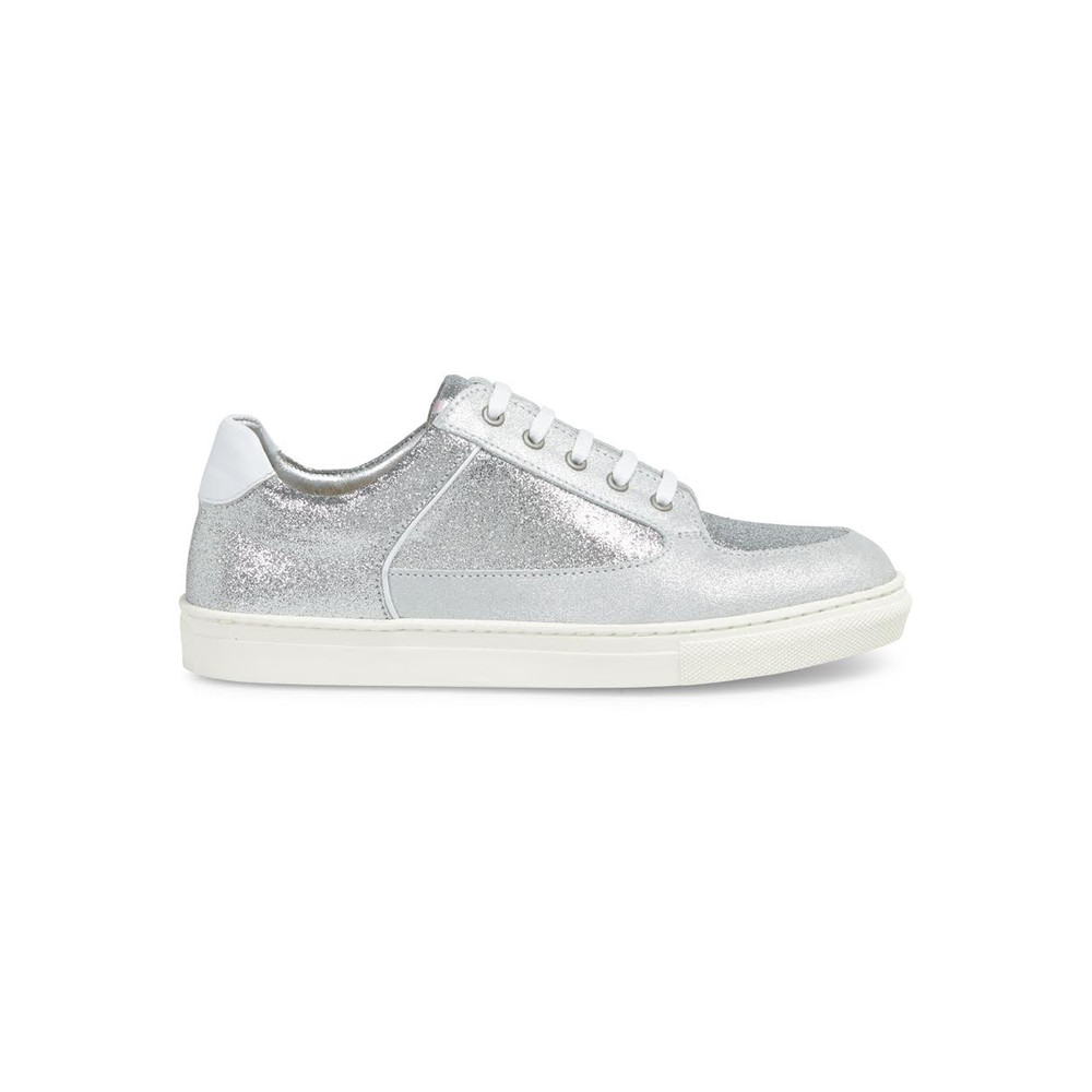 Coney Low Top Trainers - Silver