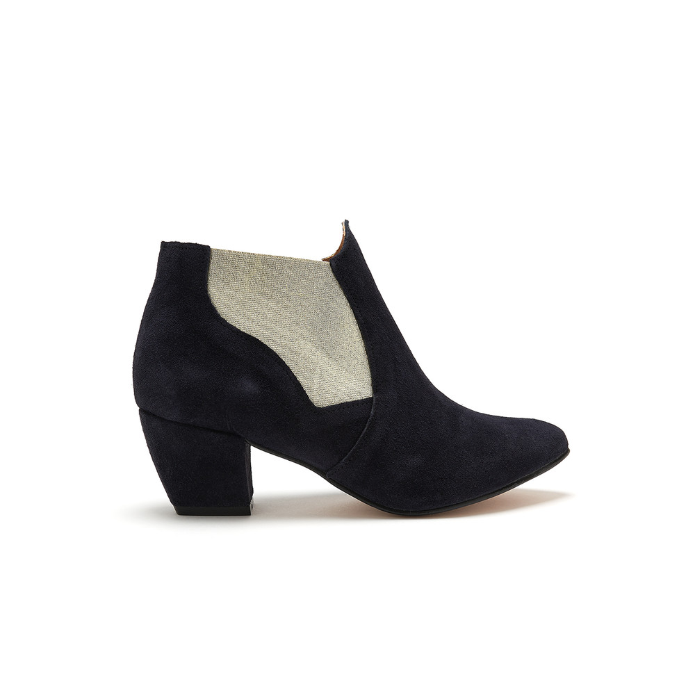 Celine Boot - Navy