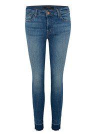 J Brand Capri Mid Rise Jeans - Corrupted