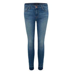 Capri Mid Rise Jeans - Corrupted