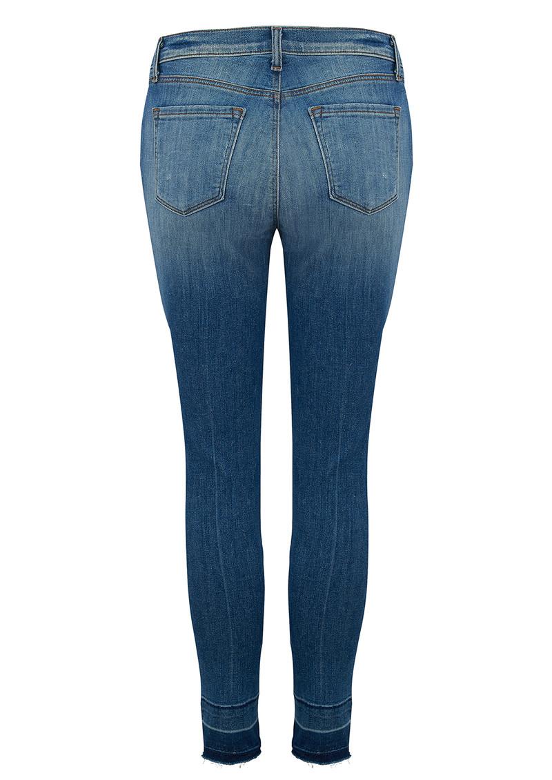 J Brand Capri Mid Rise Jeans - Corrupted main image