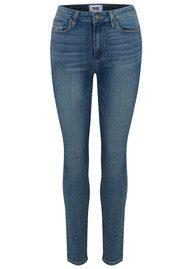 Paige Denim Margot Ankle Peg Skinny Jeans - Rosehill